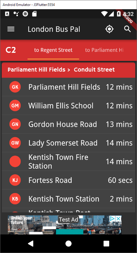 Dark mode: this is why I love Flutter – London Bus Pal Blog